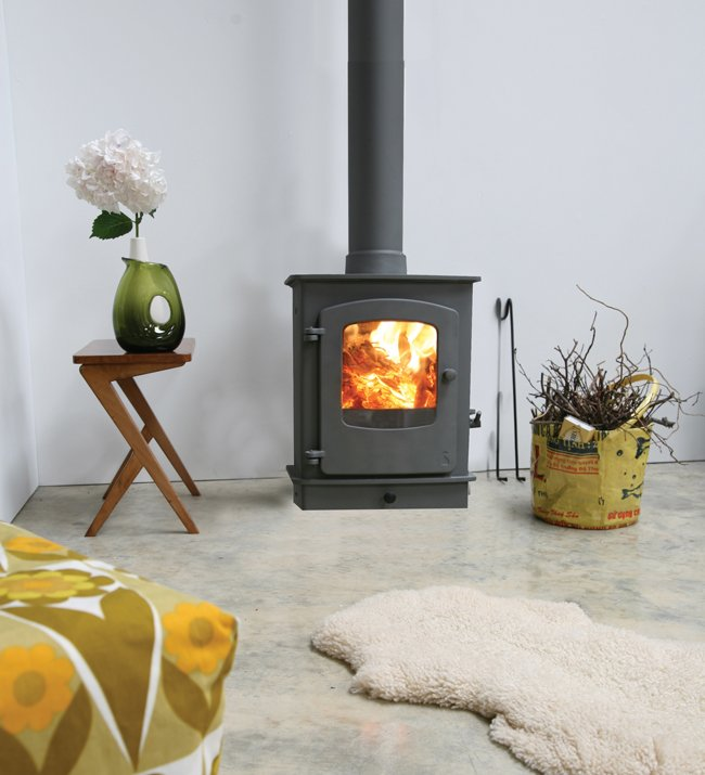 Charnwood Cove One Wood Burning   Multi Fuel Defra Approved Stove