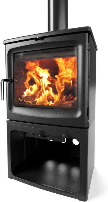 Saltfire Bignut 5 Tall Wood Burning   Multi Fuel Eco Design Stove