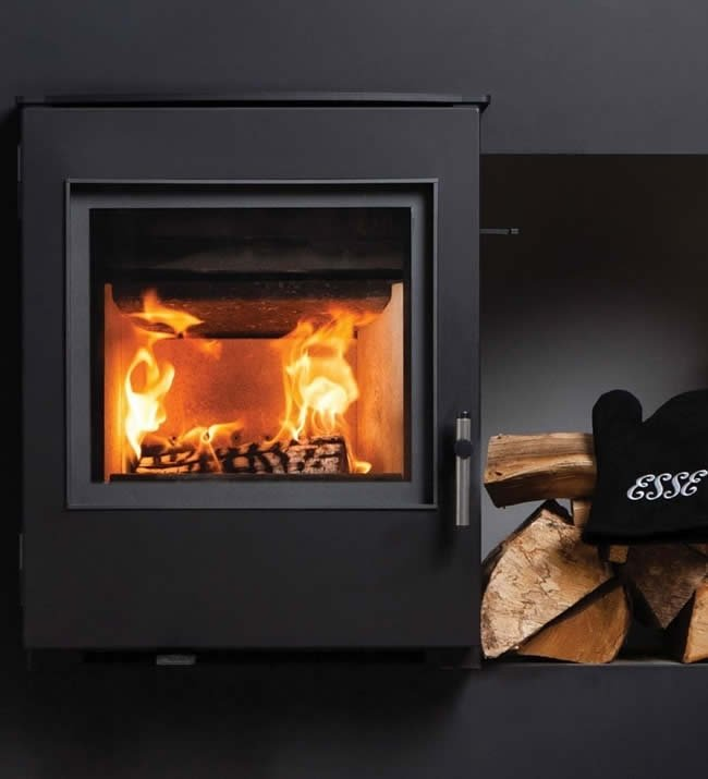 Esse 350SE Contemporary DEFRA Approved Inset Multifuel Stove