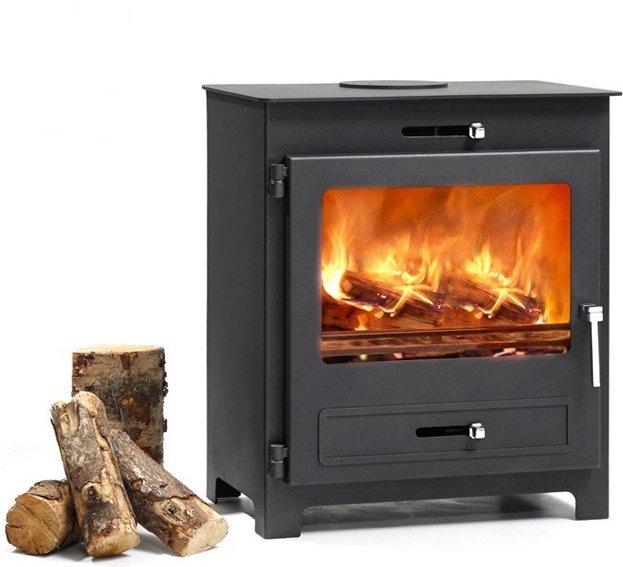Hillandale Silverdale 7 Wood Burning DEFRA Approved Stove