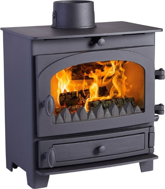 Hunter Kestrel 5 Defra Approved Multi Fuel Stove