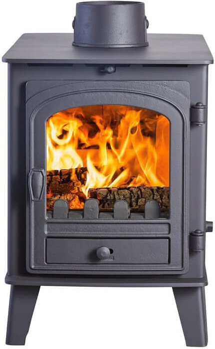 Parkray Consort 4 Double Sided Single Depth Multifuel Stove