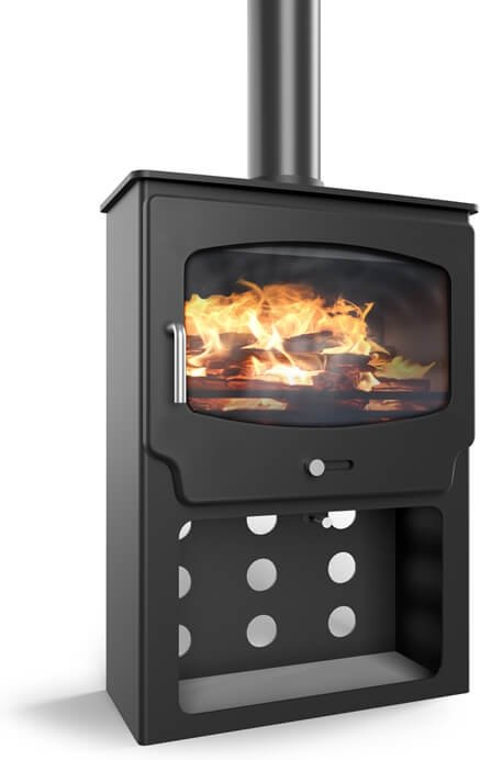 Saltfire ST X Wide 5kW Tall Ecodesign Wood Stove