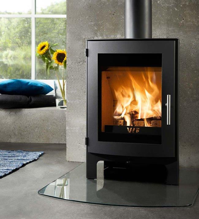 Westfire Uniq 17 Contemporary Wood Burning Stove