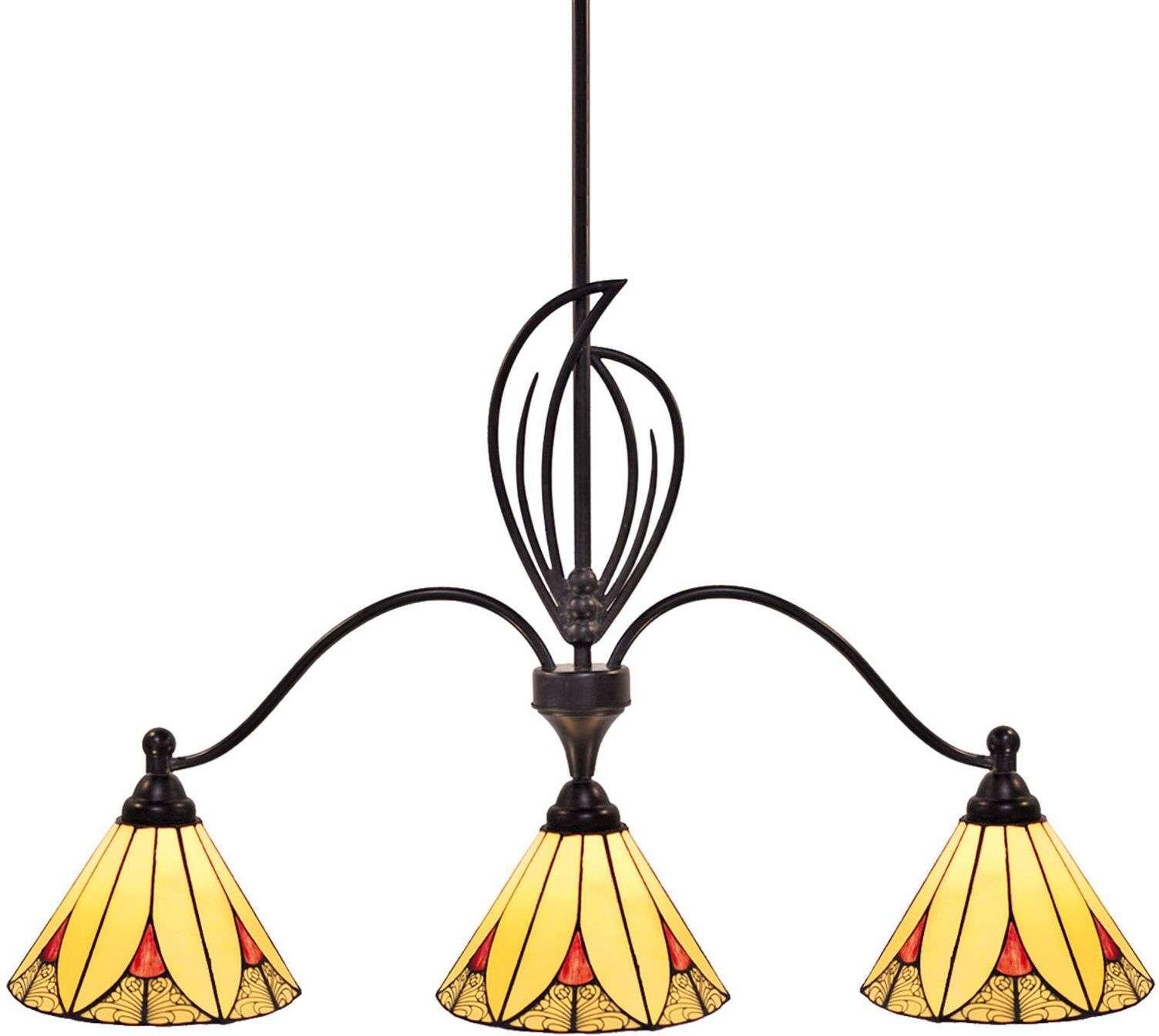 Charming pendant light Elisa  three bulb