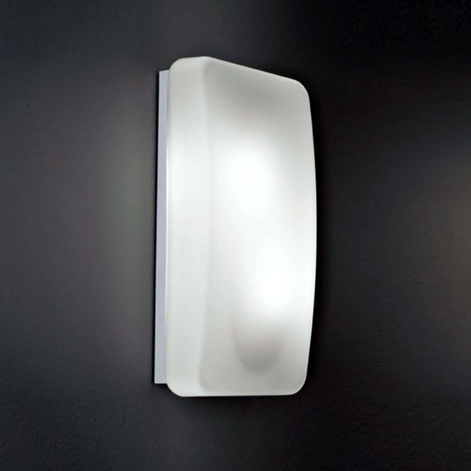 Glass wall light Rialto  20 x 40 cm