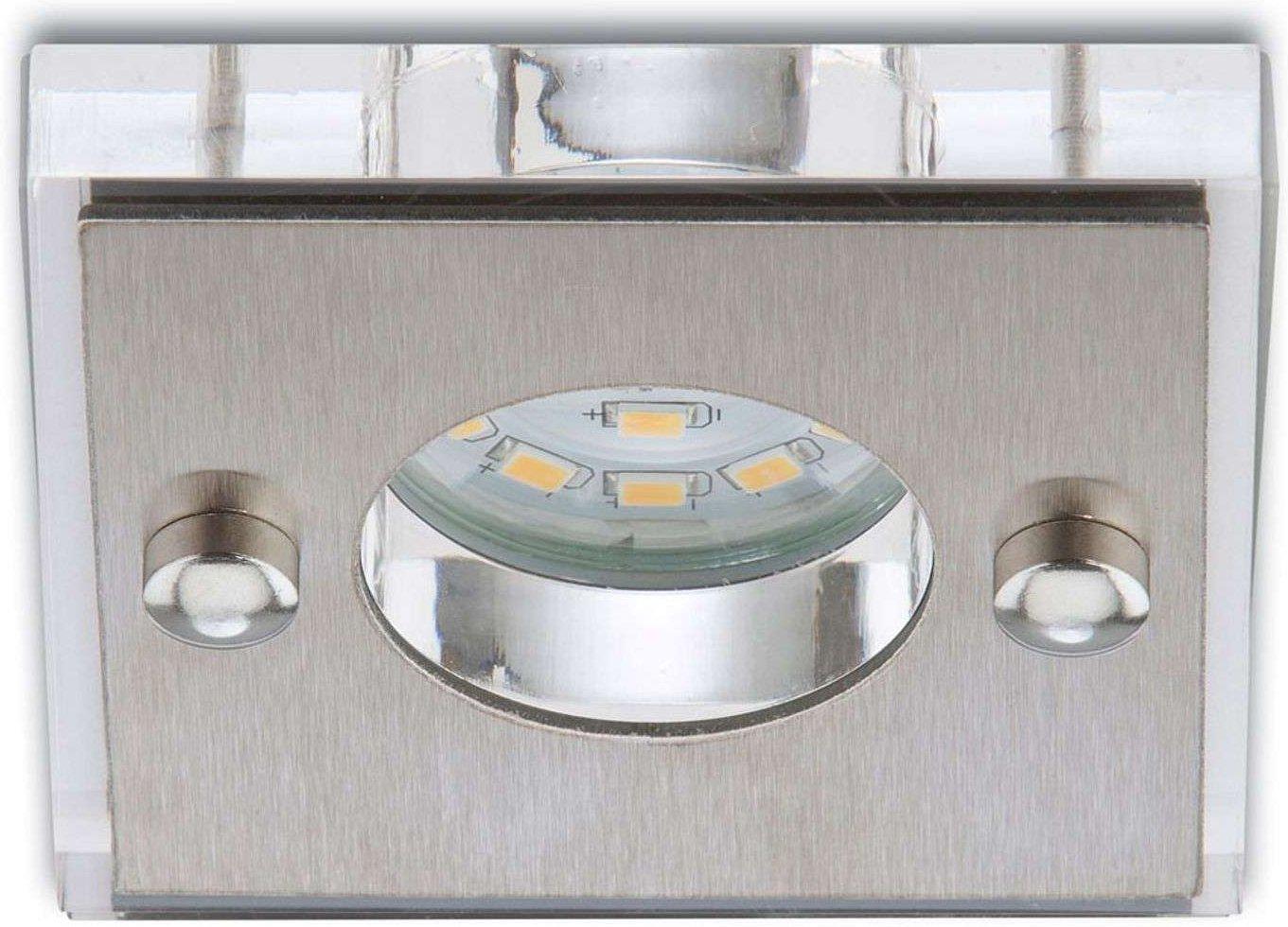 Rectangular LED recessed light Nikas  aluminium
