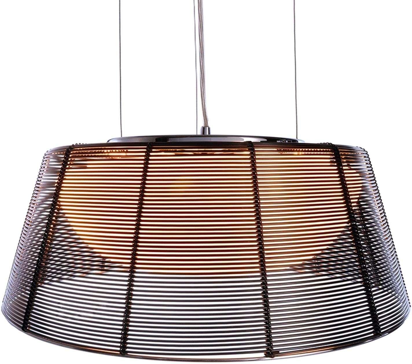 Filo Sat hanging lamp in black