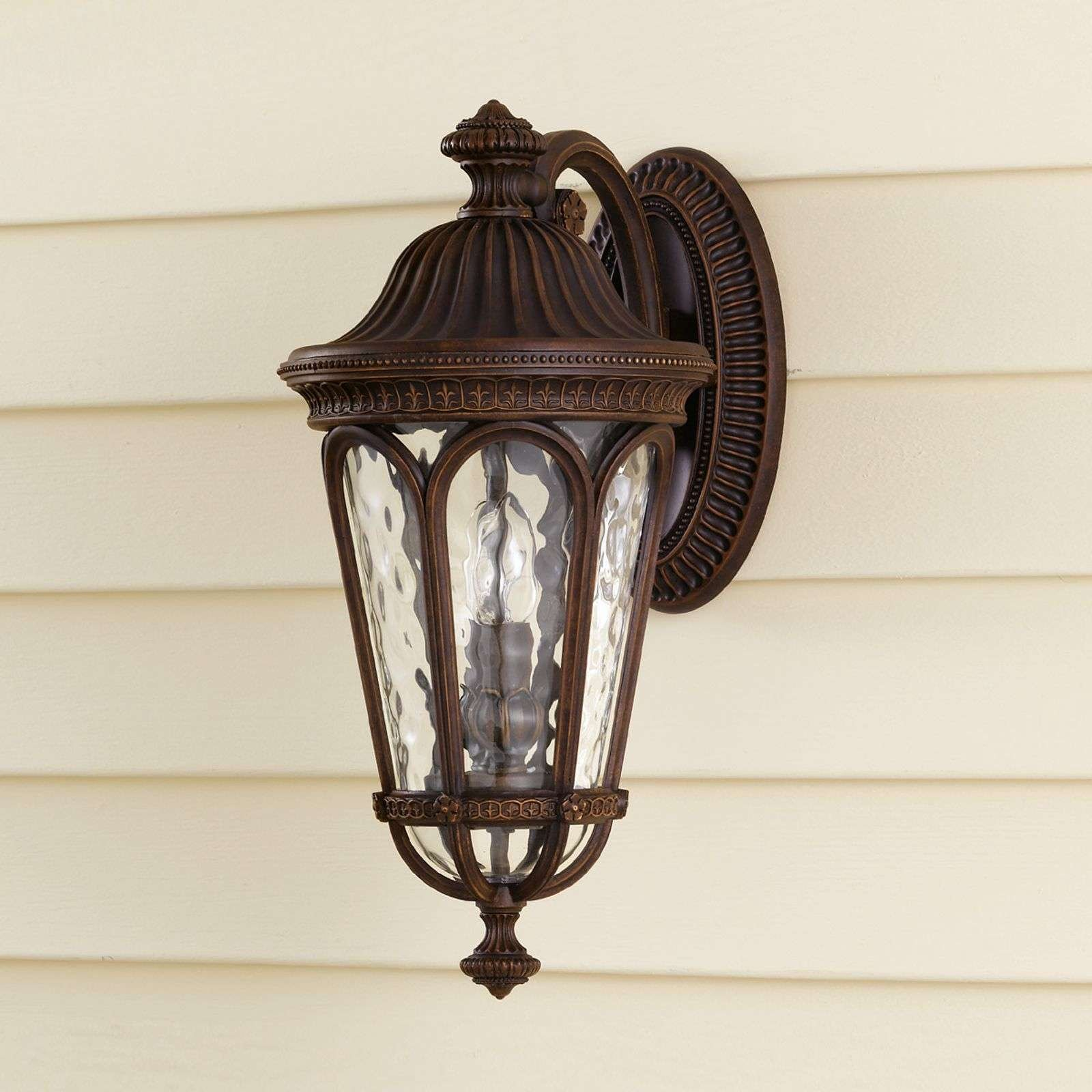 Regent Court Outside Wall Light Antique Two Bulbs
