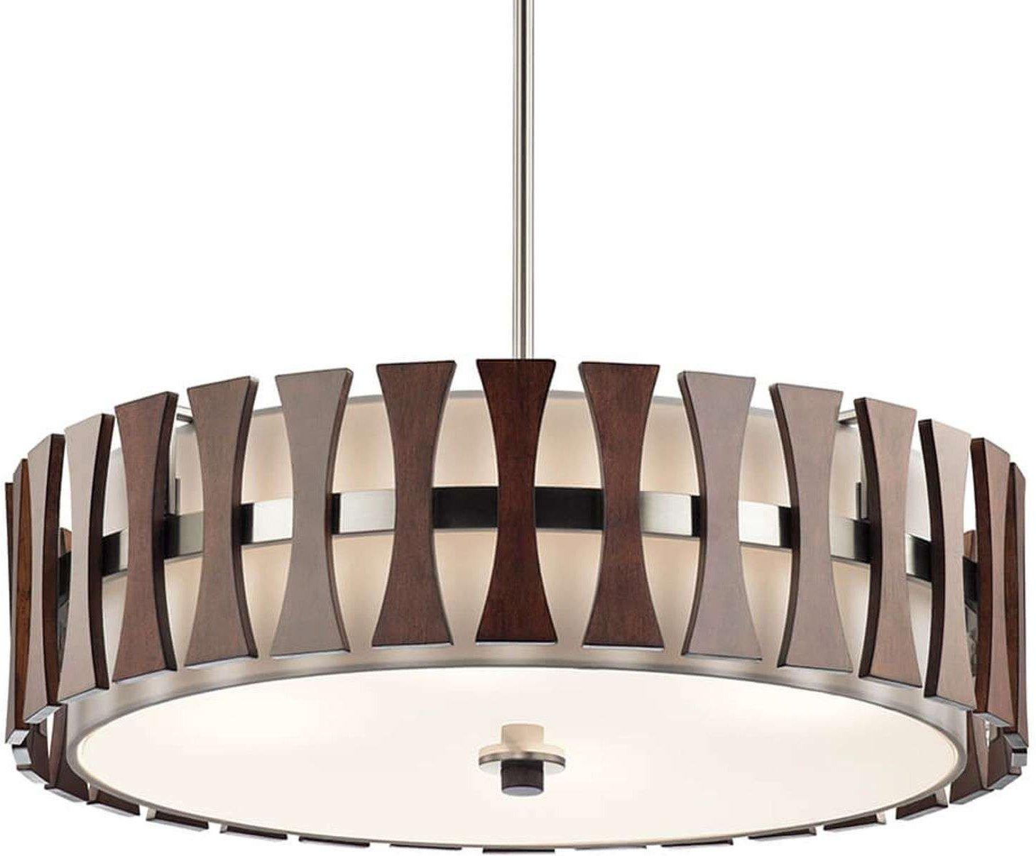 Wonderful wooden hanging lamp Cirus