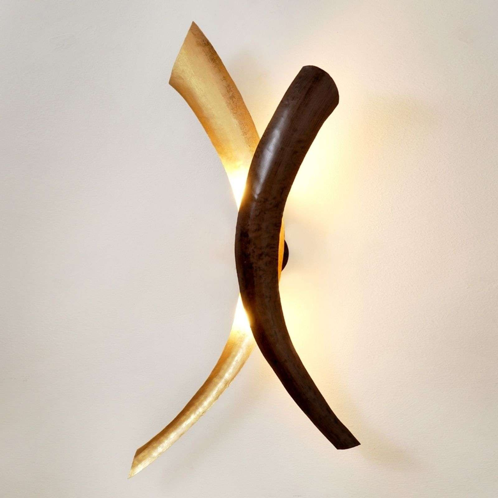 Appealing wall lamp Serpente Duetto