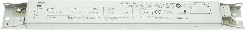 EB BCS80 1FX 11 220 240 1 x 80 W T5 TC L
