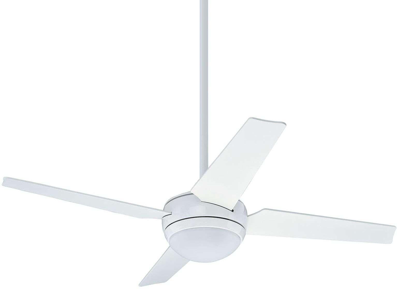 Hunter Sonic fan with light  white