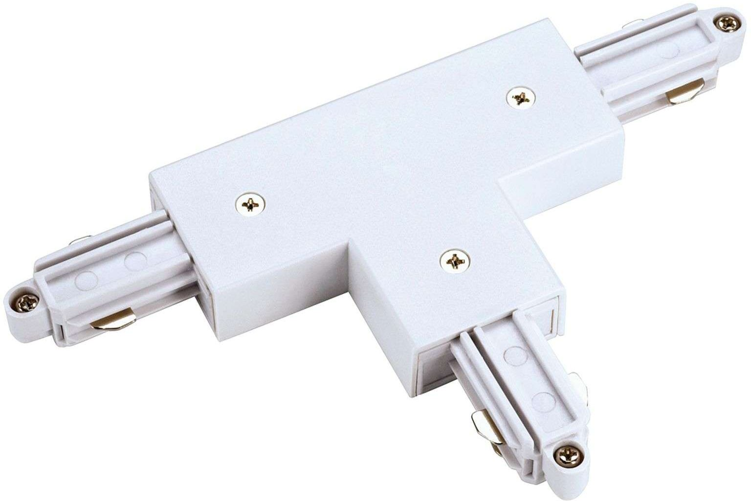 SLV T connector one circuit HV track right  white