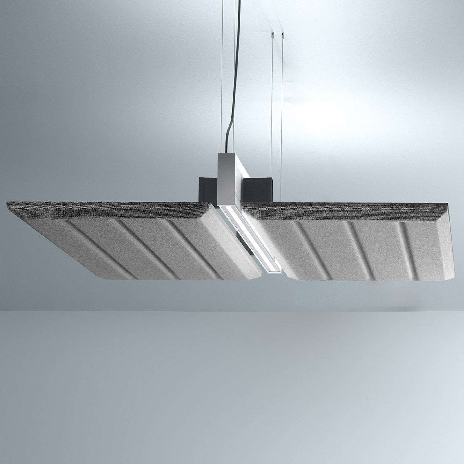 Luceplan Diade hanging lamp horizontal 120cm black