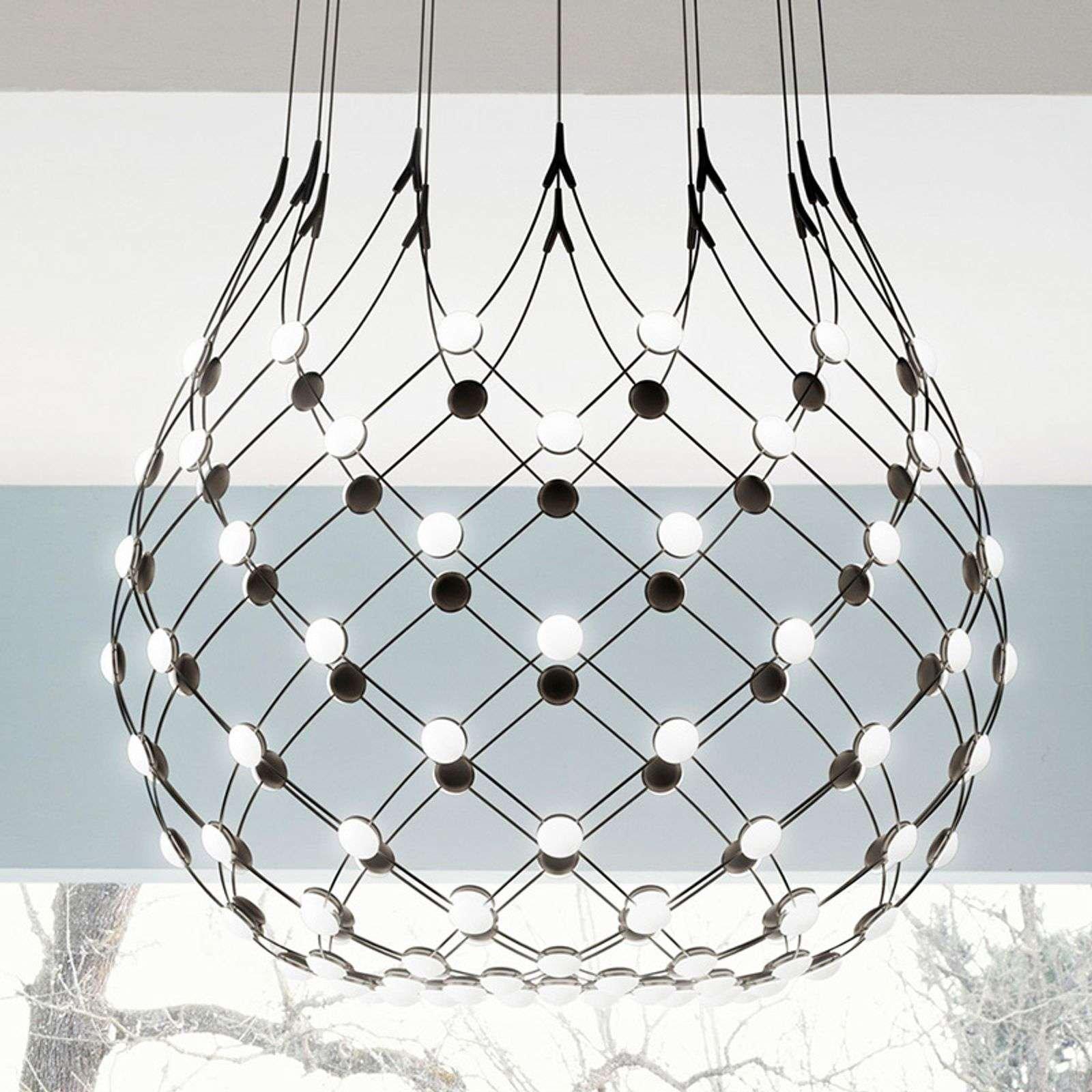 Luceplan Mesh pendant lamp   100 cm wireless 1m