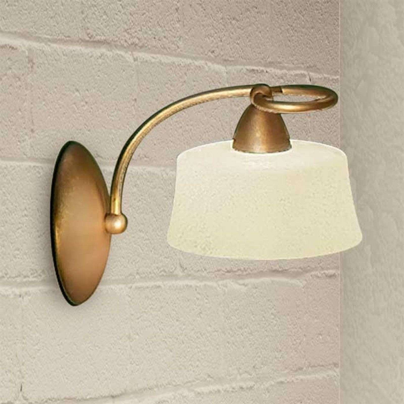 Alessio wall light  twisted to the left