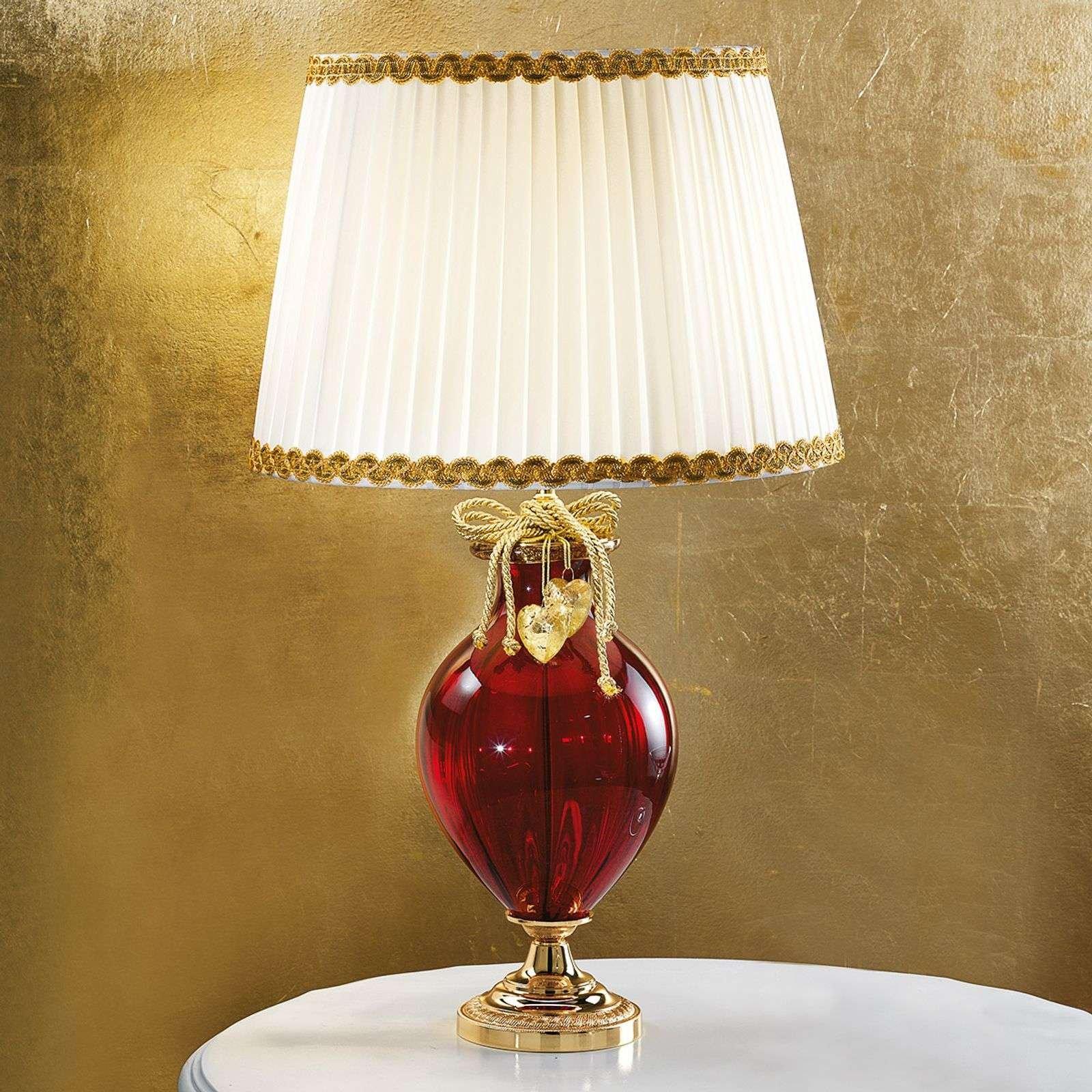 Ella noble Murano glass table lamp