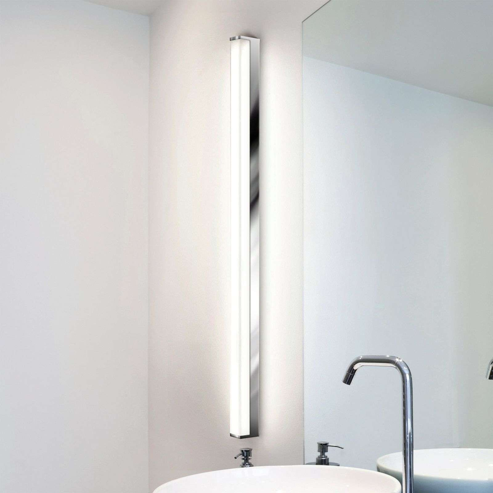 LED bathroom wall light PARI  90 cm  chrome