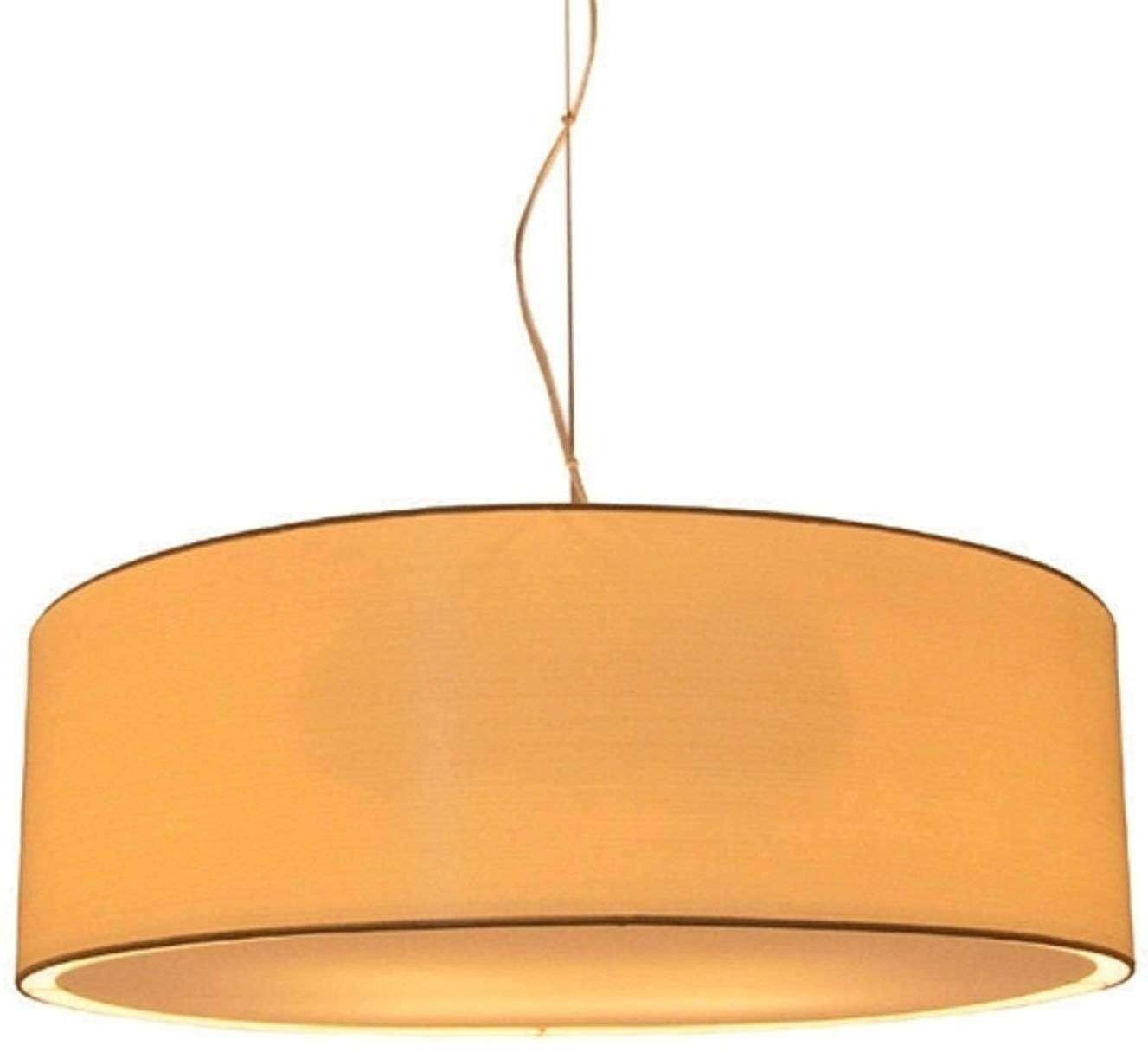 LIVING ELEGANT D 80 cm hanging light  cream