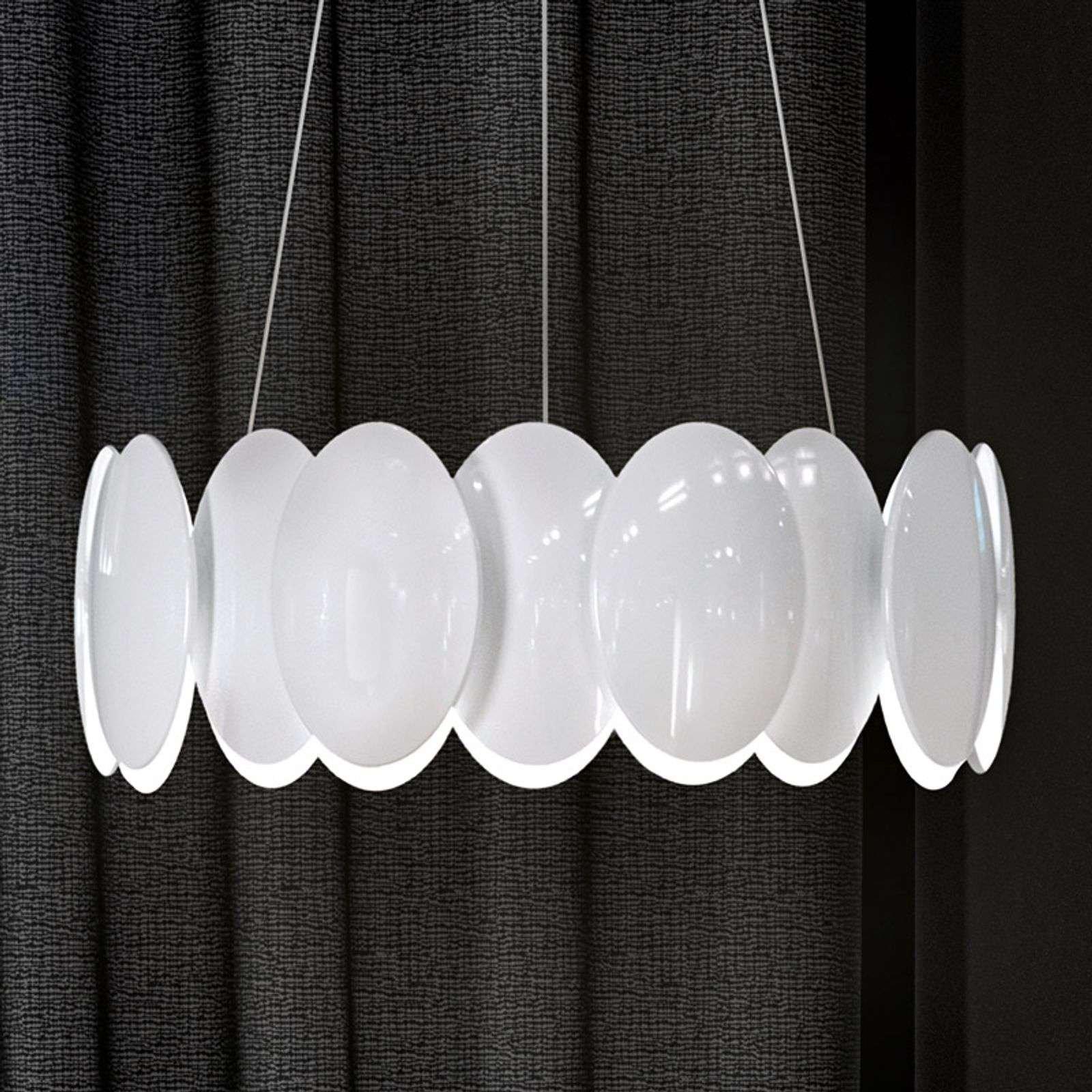 Round LED hanging light Obolo   42 9 cm