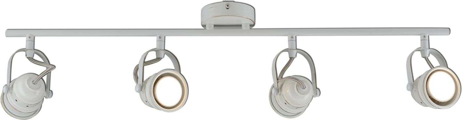 Tessa   4 bulb LED ceiling spotlight in white