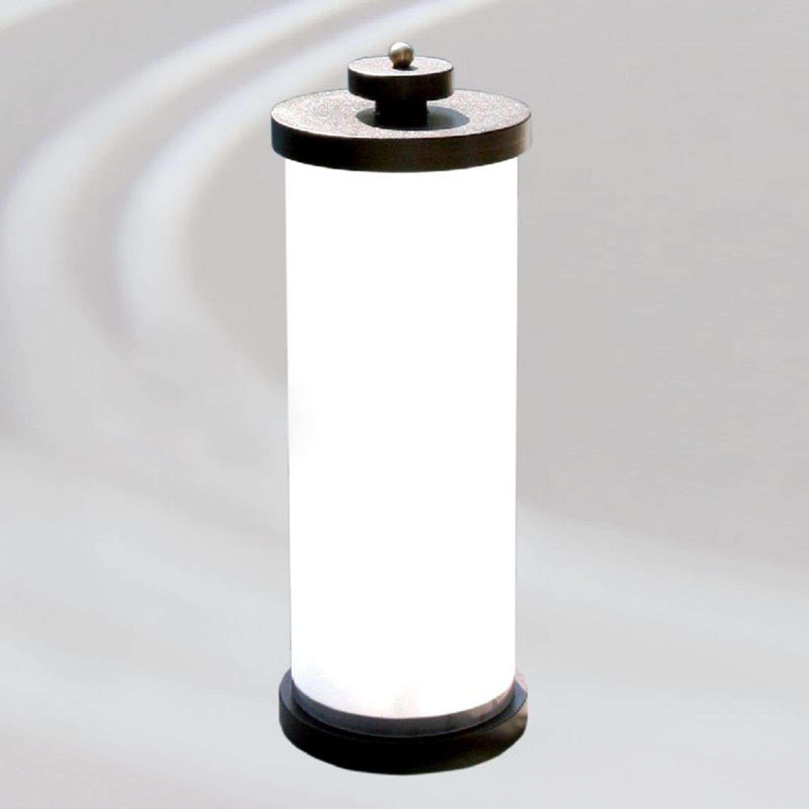 Round pillar light Bali  57 cm high