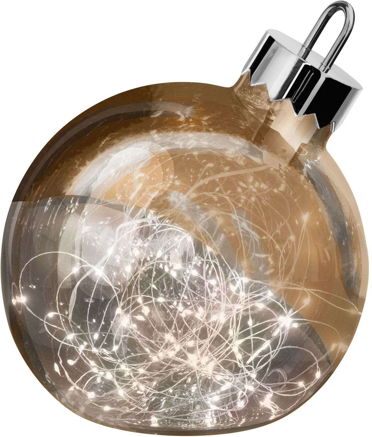 Ornament decorative light  copper  30 cm diameter
