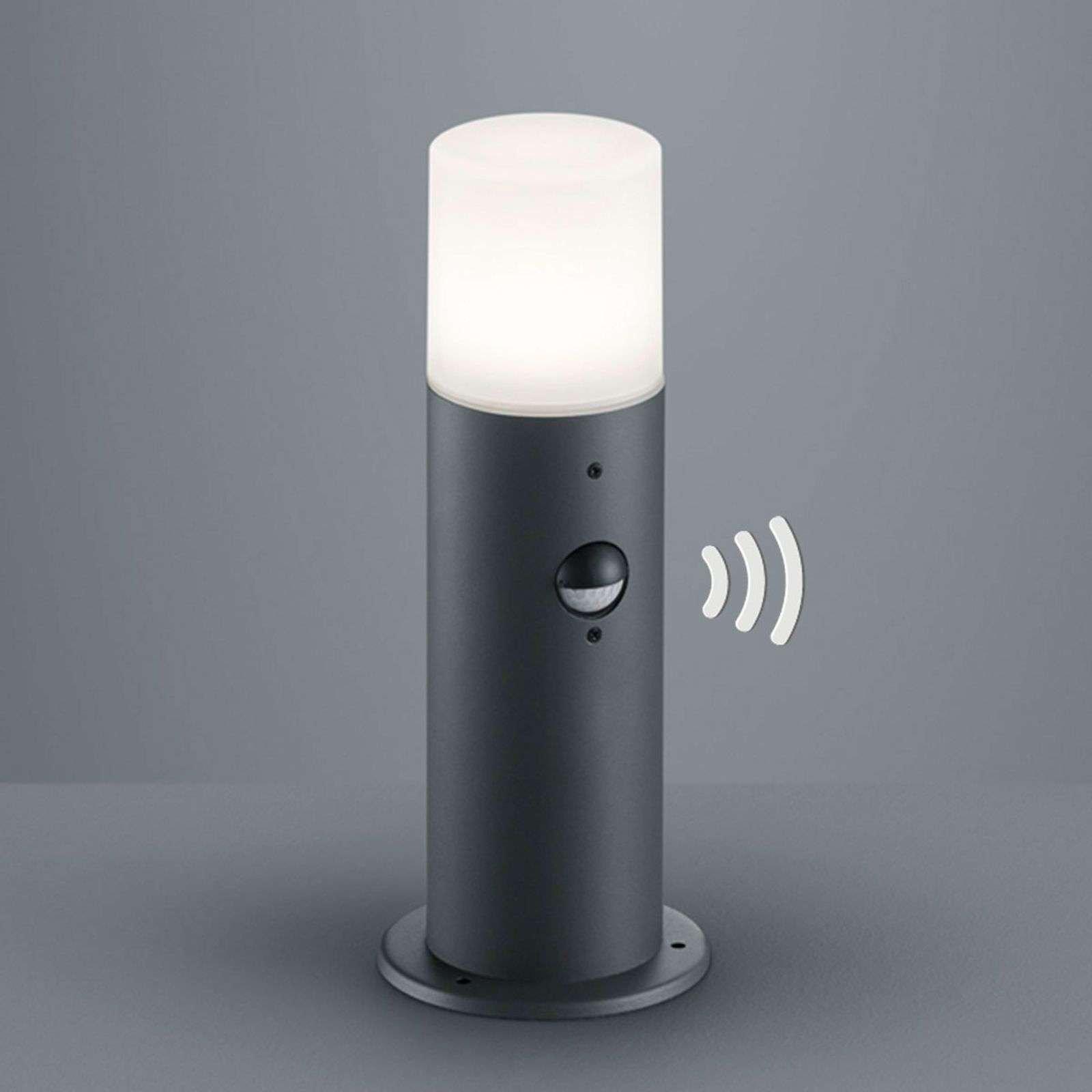Practical Hoosic pillar light with sensor