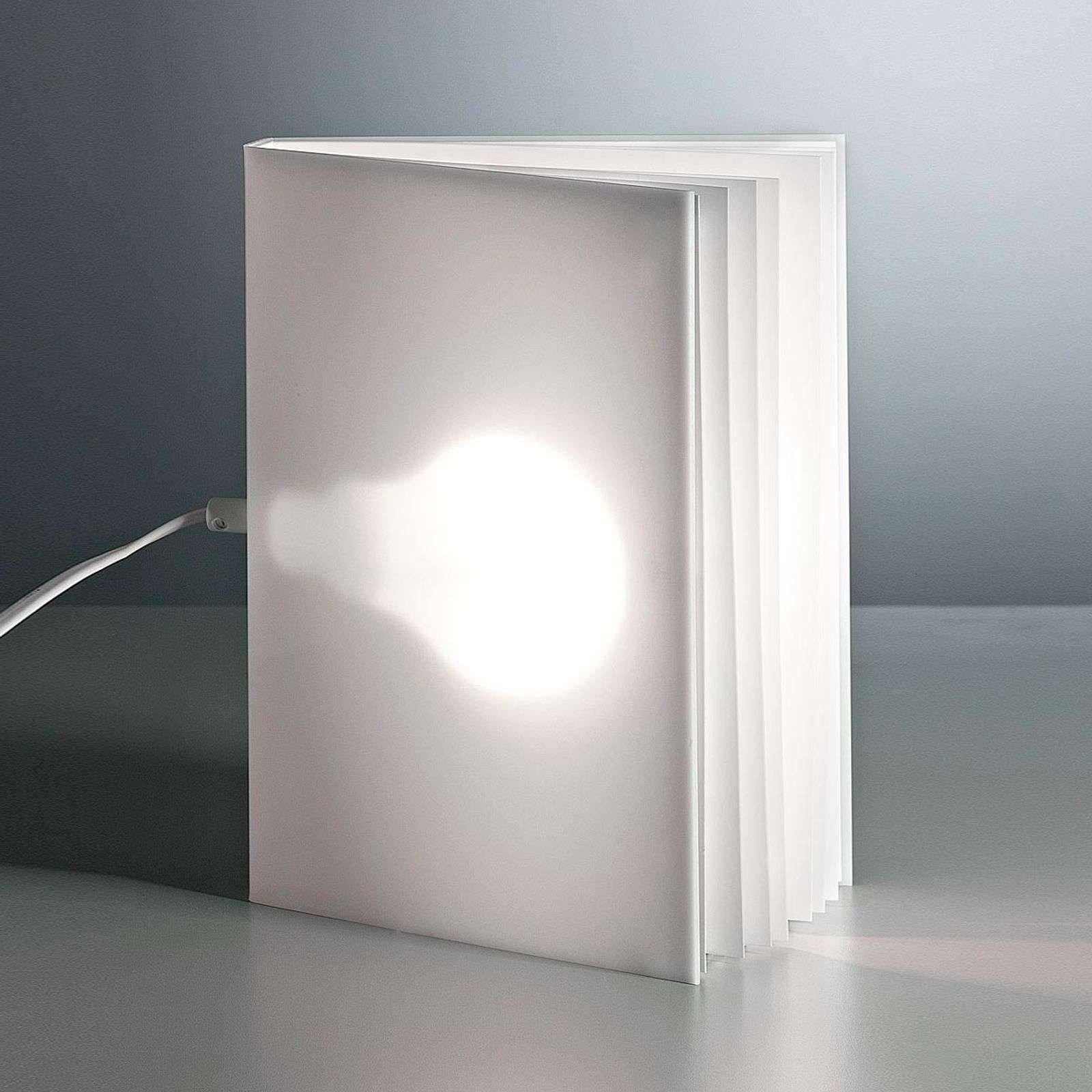 Tecnolumen BookLight table lamp by Vincenz Warnke