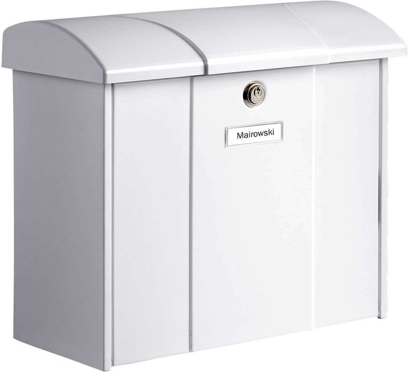 Olymp letterbox in white