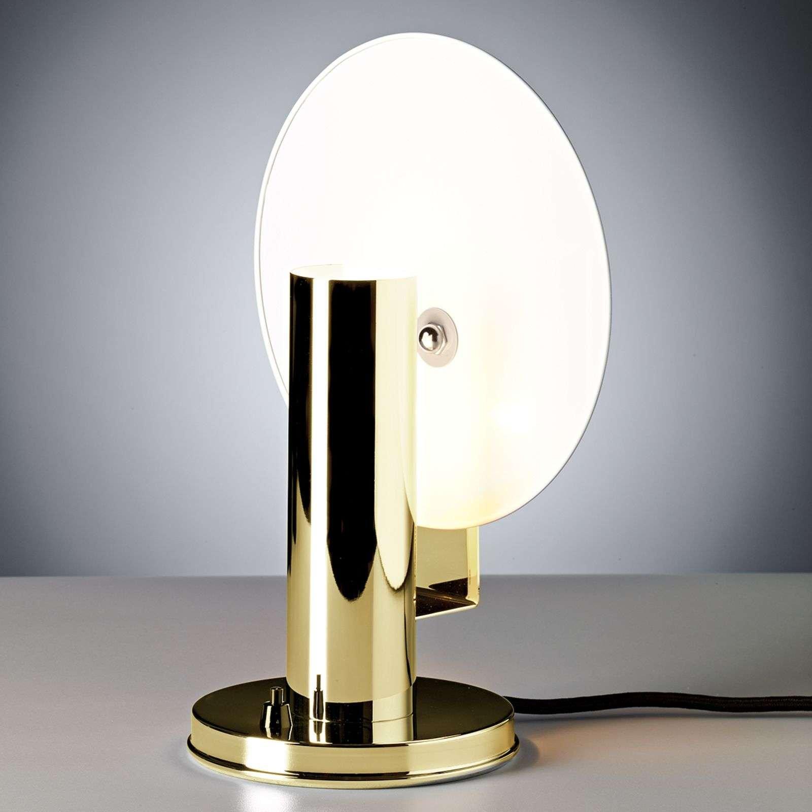 De Stijl table lamp made of brass