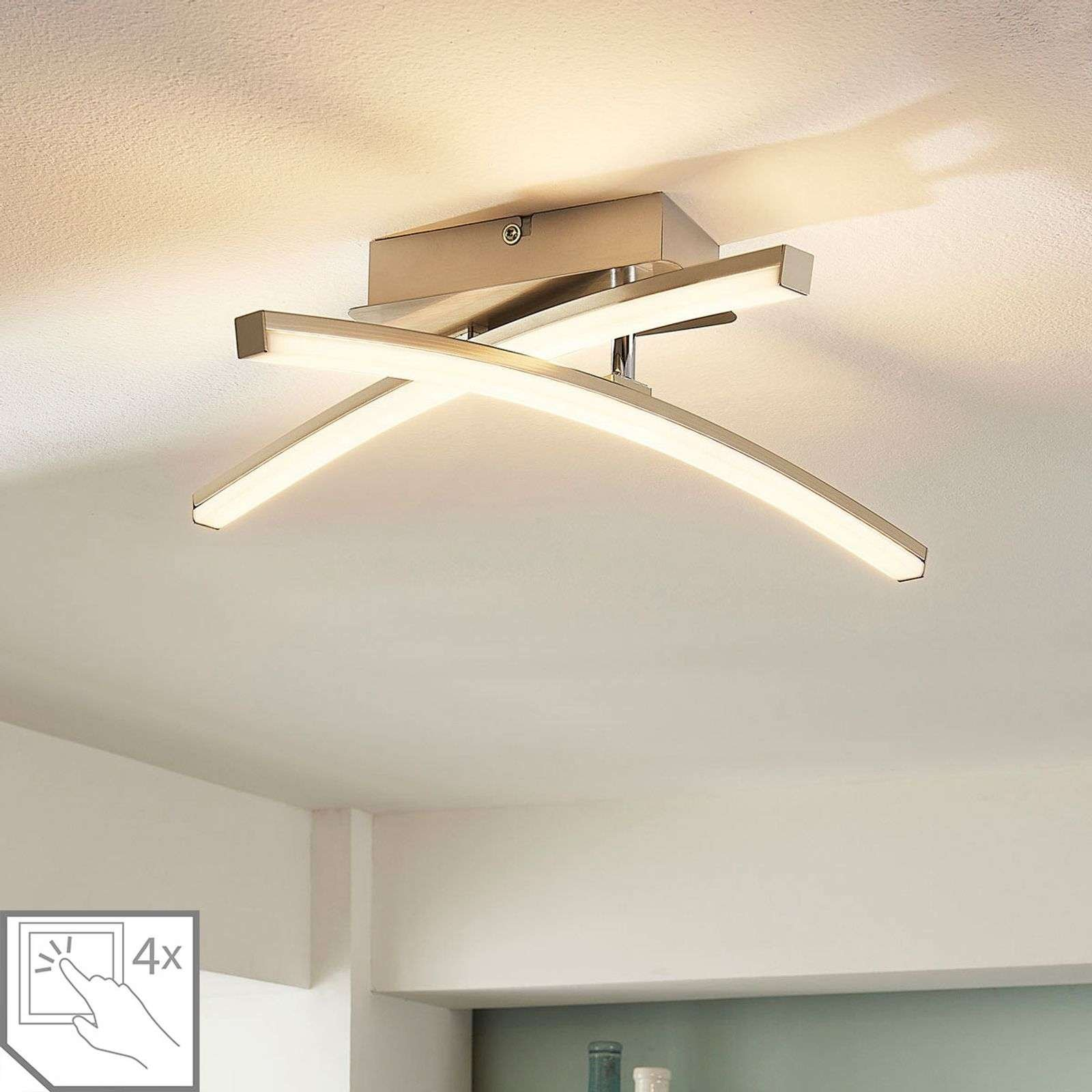 Laurenzia LED ceiling lamp  dimmable in 4 levels