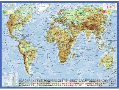 Ravensburger Politische Weltkarte 300 Teile Puzzle Ravensburger-13097