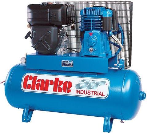 Clarke Clarke SD26KE150 25cfm 150Litre 8 4HP Electric Start Diesel Stationary Air Compressor
