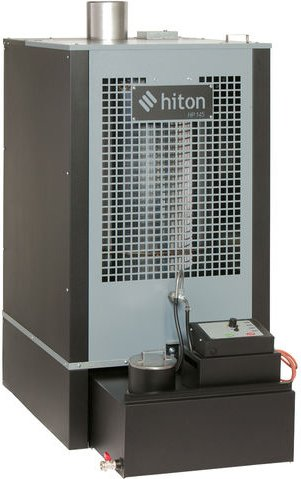 Clarke Hiton HP145   143 000 BTU  42kW  Waste Oil Heater w  Flue Kit