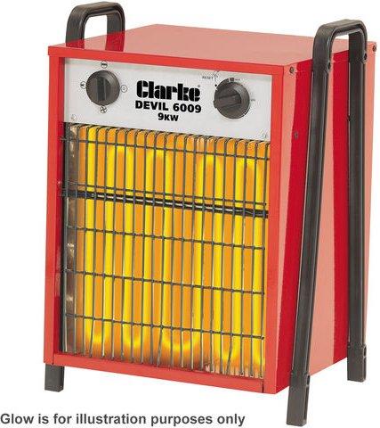 Clarke Clarke Devil 6009 Industrial Electric Fan Heater  400V