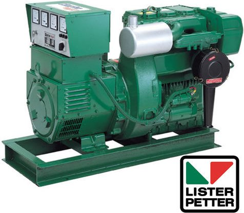 Clearance Lines Clarke Heavy Duty Diesel Powered Lister Generator 3 phase   TX3 ES3