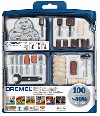Dremel Dremel 2615S723JA 100 Piece Multipurpose Accessory Set