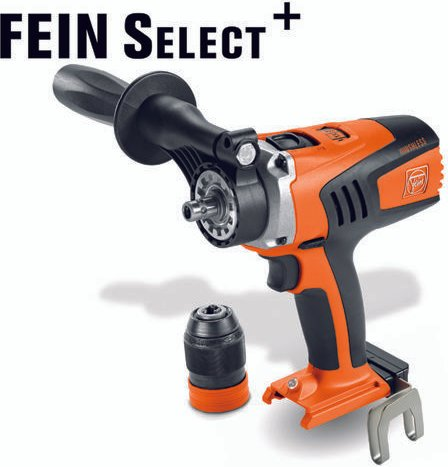 Fein Fein Select  ASCM 18 QM 18V 4 Speed Cordless Drill Driver  Bare Unit