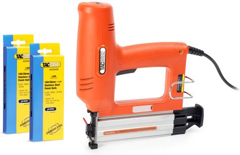Tacwise Tacwise Master Nailer 16G Electric Finish Nailer and 2000 Stainless Steel Nail Package