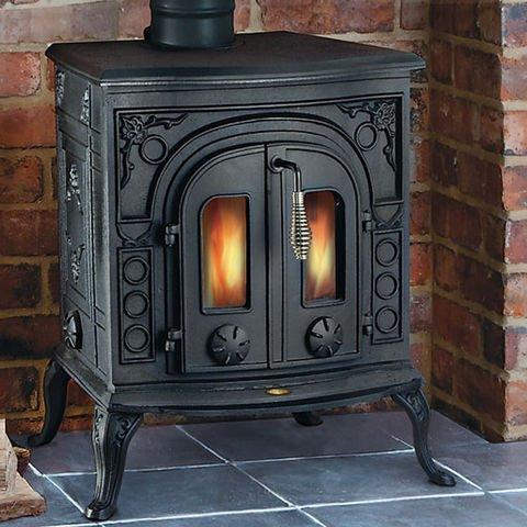 Clarke Clarke Victoria Cast Iron Wood Burning Stove