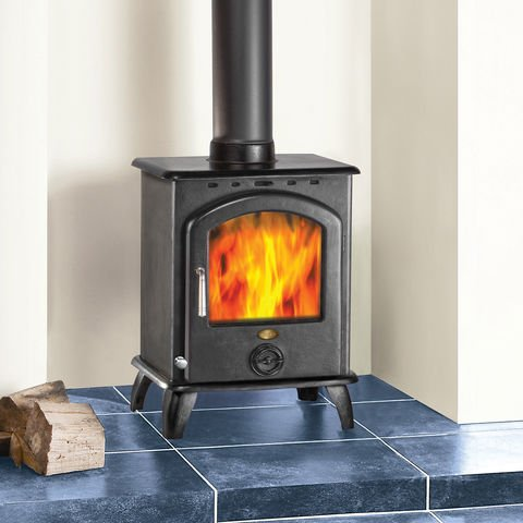 15  Off Weekend Clarke Carlton II 6 5kW Cast Iron Wood Burning Stove