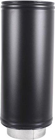 Roccheggiani  Roccheggiani Black Straight Pipe 450mm   2 Sizes