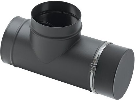 Clarke 90  Tee with Soot Box Flue Pipe 6