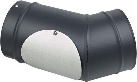 Clarke 45 Degree Elbow with Door Flue Pipe 6