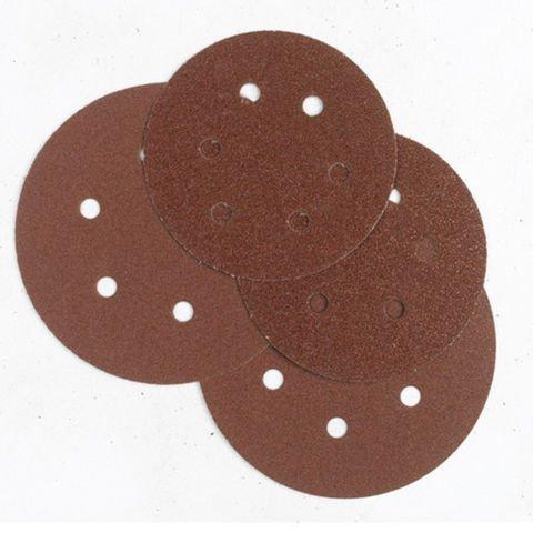 Machine Mart 50 Alu  Oxide 6 Hole Sanding Disc 150mm Dia    Med