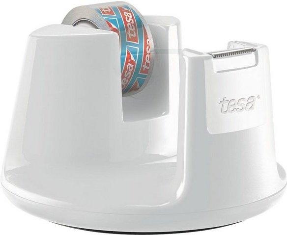 Tesa Tischabroller mit Klebeband »kristall-klar« »Easy Cut Compact«