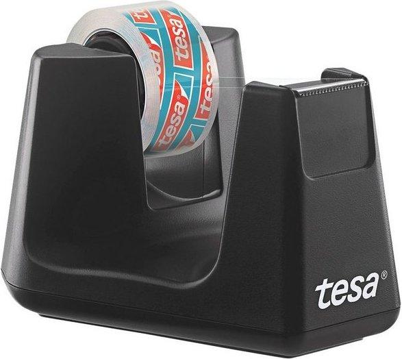 Tesa Tischabroller mit Klebeband »kristall-klar« 53903 »smart ecoLogo®«