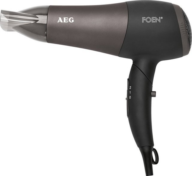 AEG Haartrockner HTD 5649, 2200 W, schwarz-anthrazit